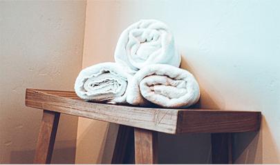 Bedroom, Bathroom & Spa Supplies