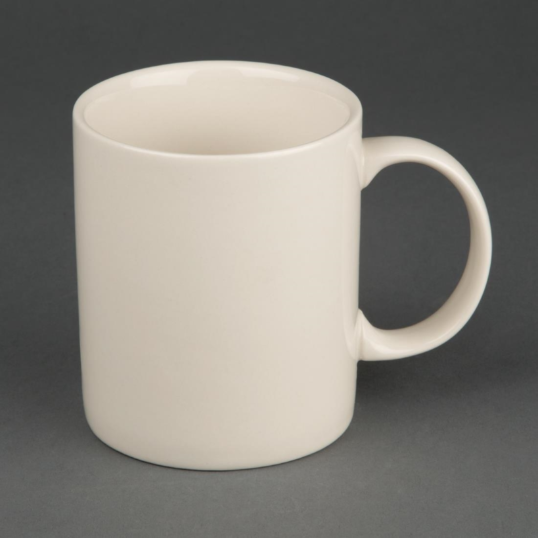 Olympia Ivory Mugs 284ml 10oz (Pack of 12)